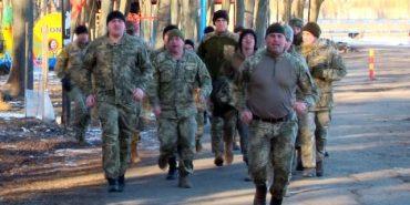 У Коломиї понад півтисячі військових пробігли трикілометрову дистанцію. ВІДЕО