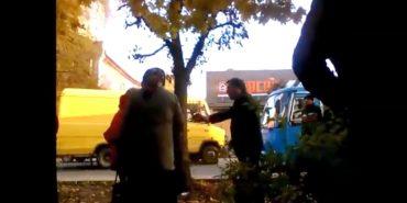 Власник автобусного маршруту у Коломиї після ДТП скандалив зі свідками. НЕНОРМАТИВНА ЛЕКСИКА +18
