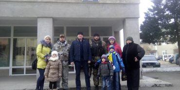 Коломийські правоохоронці повернулися із зони АТО. ФОТОФАКТ