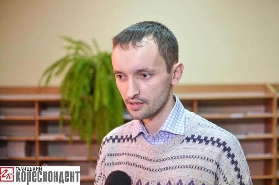 Прикарпатський поет Олександр Букатюк презентував нову збірку. ФОТО