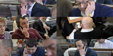 Коломийські депутати і гаджети: добірка фото