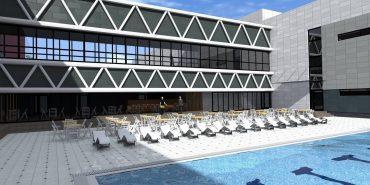 Як виглядатиме майбутній водоспортивний комплекс у Коломиї. ПРОЕКТНА ПРОПОЗИЦІЯ