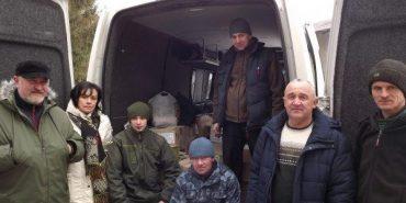 З Прикарпаття в Авдіївку відправили мікроавтобус з допомогою військовим