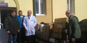 У госпіталь ветеранів війни, розташований у Коломиї, надійшла допомога з Тернопільщини. ФОТО