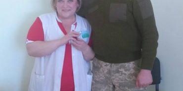 У Коломиї боєць АТО освідчився у коханні медсестрі. ФОТО