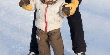Рятувальники заміряли товщину льоду на міському озері в Коломиї