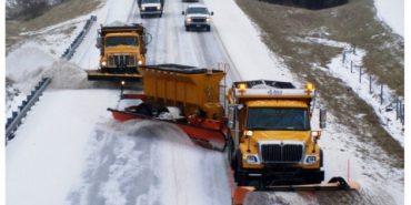 Через погодні умови  в чотирьох областях України обмежили рух автотранспорту