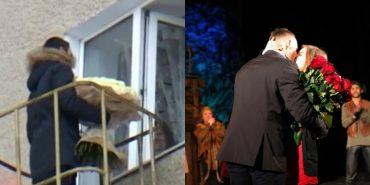 Два незвичні освідчення здійснили на Прикарпатті ФОТО+ВІДЕО