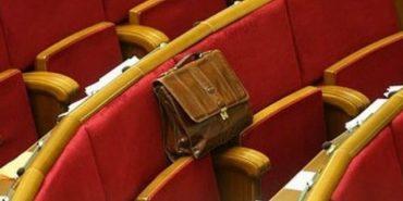 Народних депутатів-прогульників пропонують відправляти в АТО