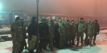 Майже три десятки військових резервістів повернулися на Прикарпаття. ФОТО