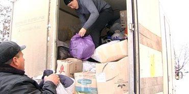 Мешканці Коломийщини відправили дві вантажівки допомоги в Авдіївку. ВІДЕО