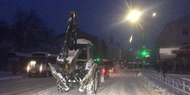 Комунальні служби Коломиї впоралися зі снігом. ФОТОФАКТ