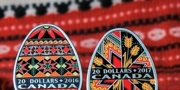 Канада випустила вже другу срібну монету з українською писанкою. ФОТО