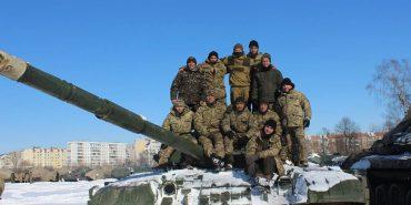 Військові 10 бригади у Коломиї показали, як підтримують бойову готовність. ФОТО