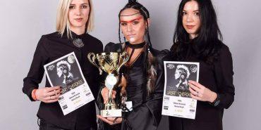 """Візажист і перукар з Коломиї здобули """"срібло"""" на європейському конкурсі. ФОТО"""