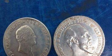 У двох мешканців Прикарпаття СБУ вилучила більше сотні медалей та срібних монет XVIII-XIX століття. ФОТО