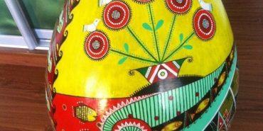 На Всеукраїнський фестиваль поїхала велетенська писанка з Прикарпаття. ФОТО