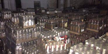 На Прикарпатті вилучили 75 тис. пляшок алкоголю на 6 млн грн. ФОТО