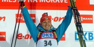 Біатлоністка Підгрушна всьоме отримує звання найкращої спортсменки України