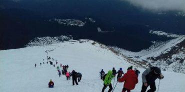 У масовому зимовому сходженні на Говерлу взяли участь 370 туристів
