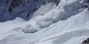 Лавина, яка зійшла з гори Брескул, зламала 11 смерек та снігомірні рейки