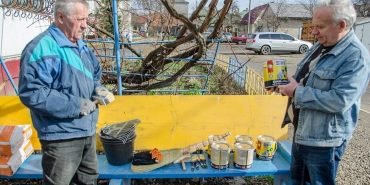 Сьомий рік поспіль у мікрорайоні Петлюри-Лисенка пройшла весняна толока. ФОТО
