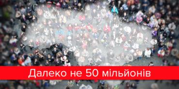 У Держстаті озвучили чисельність населення України. ІНФОГРАФІКА