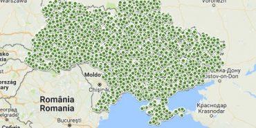 Шевченко на теренах України: інтерактивна карта