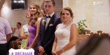 """Наречені з Прикарпаття змагалися у програмі """"4 весілля"""". ВІДЕО"""