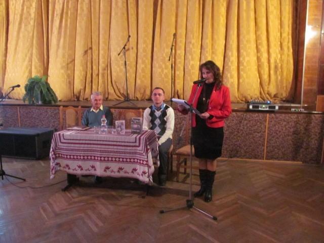 На Коломийщині презентували книжки Назарія Андрійчука