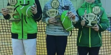 Тенісисти з Коломиї Ілля Сарафин, Іван Дячук та Артур Казаков здобули призові місця на всеукраїнських змаганнях
