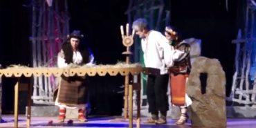 Коломийські театрали знайомили німців з гуцульськими традиціями. ВІДЕО