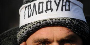 На Прикарпатті очільник громадської організації, протестуючи проти корупції, оголосив голодування