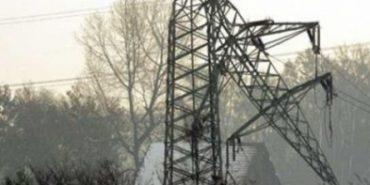 Через крадіїв металу на Прикарпатті впала чергова електроопора