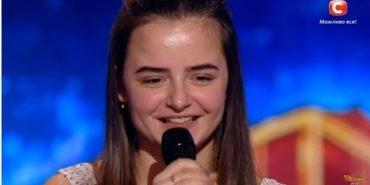 """Три """"так"""": 16-річна дівчина з Надвірної вразила суддів """"Україна має талант. Діти-2"""". ВІДЕО"""