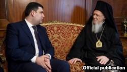 Створення єдиної української помісної церкви є неминучим — Гройсман