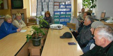 Заняття школи майбутнього пенсіонера пройшло у Коломиї