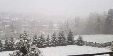 Польщу засипало снігом. ФОТО