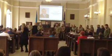 У Коломиї учасники АТО вимагають провести службове розслідування стосовно Любомира Жупанського