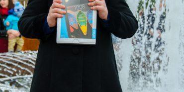 Перемогу у конкурсі на краще фото біля фонтана здобула 4-річна донечка учасника АТО