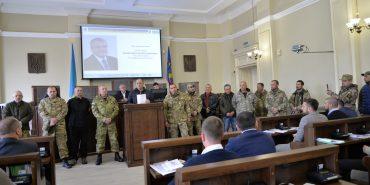 Опублікували відео, де учасники АТО вимагають звільнення Любомира Жупанського з посади секретаря міськради