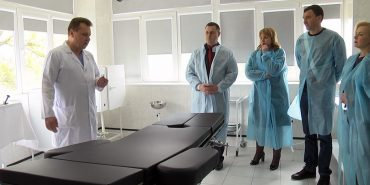 У Коломийській лікарні триває активний ремонт. ВІДЕО