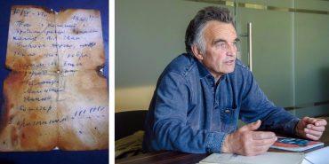 """""""Я захворів горами на все життя"""", – Володимир Галайда, автор записки 40-річної давності, знайденої на Піп Івані"""