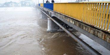 На Прикарпатті прогнозують підвищення рівня води у річках