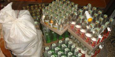 На Франківщині викрили цех з виготовлення фальсифікованих алкогольних напоїв. ФОТО