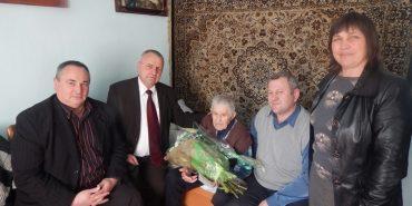 Мешканець Прикарпаття відзначив 104-й день народження