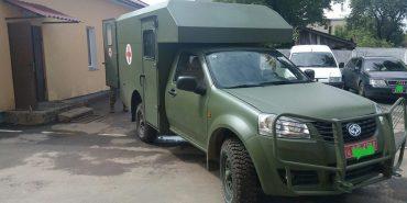 """10-ій гірсько-штурмовій бригаді, яка дислокується в Коломиї, передали санітарний """"позашляховик"""""""