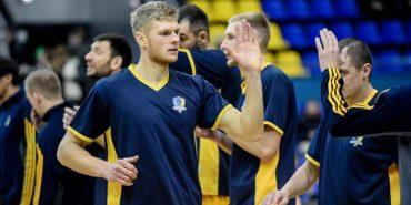 Коломиянин Віталій Вінтоняк грає на найвищому баскетбольному рівні у складі 10-кратного чемпіона України