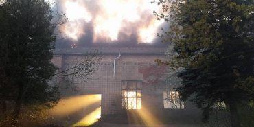 На паперовій фабриці у Коломиї вкотре гасили пожежу