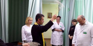 У госпіталі ветеранів війни в Коломиї освятили відремонтований фізіотерапевтичний кабінет. ФОТО